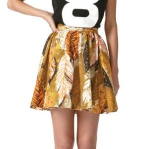 Tracy Feith Cotton Circle Skater Skirt Fall